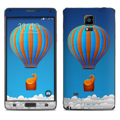 Samsung Galaxy Note 4 Skin - Flying Elephant