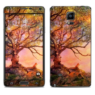 Samsung Galaxy Note 4 Skin - Fox Sunset