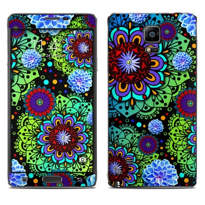 Samsung Galaxy Note 4 Skin - Funky Floratopia