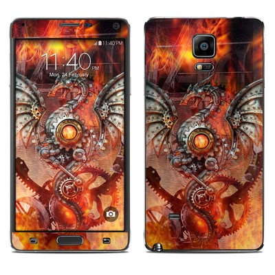 Samsung Galaxy Note 4 Skin - Furnace Dragon