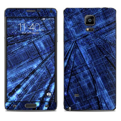 Samsung Galaxy Note 4 Skin - Grid