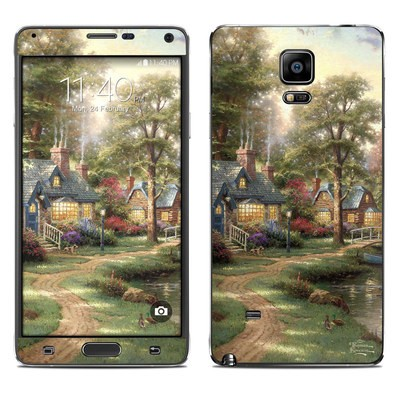 Samsung Galaxy Note 4 Skin - Hometown Lake