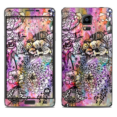 Samsung Galaxy Note 4 Skin - Hot House Flowers