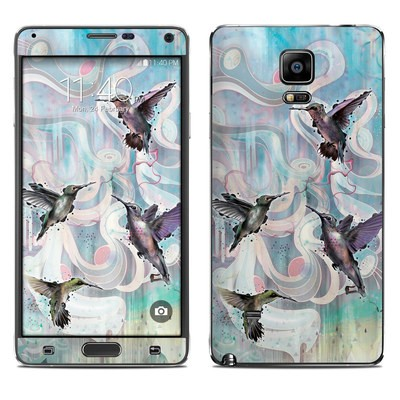 Samsung Galaxy Note 4 Skin - Hummingbirds