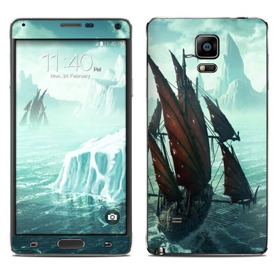 Samsung Galaxy Note 4 Skin - Into the Unknown