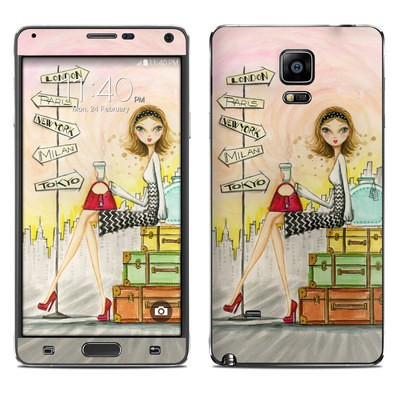 Samsung Galaxy Note 4 Skin - The Jet Setter