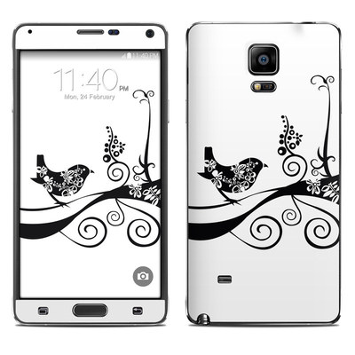 Samsung Galaxy Note 4 Skin - Little Curly