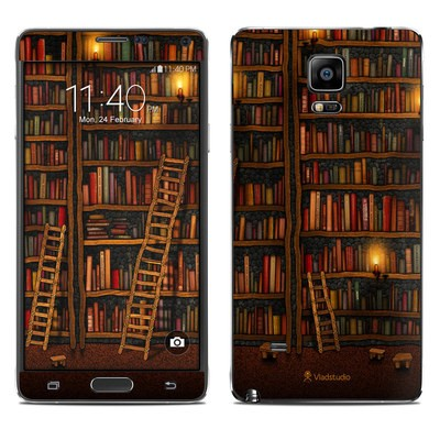 Samsung Galaxy Note 4 Skin - Library