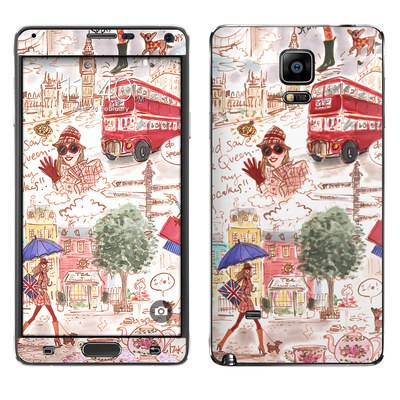 Samsung Galaxy Note 4 Skin - London
