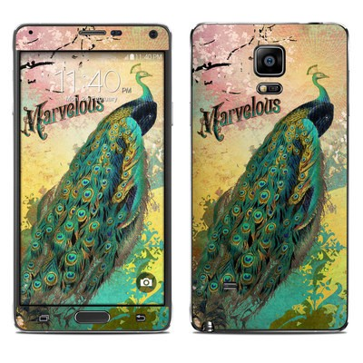 Samsung Galaxy Note 4 Skin - Marvelous
