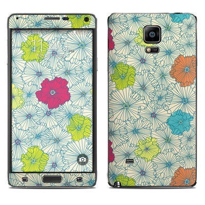 Samsung Galaxy Note 4 Skin - May Flowers