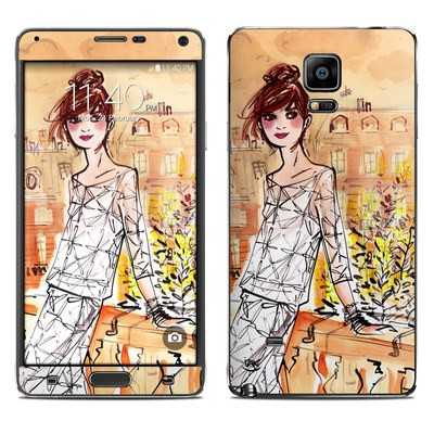 Samsung Galaxy Note 4 Skin - Mimosa Girl