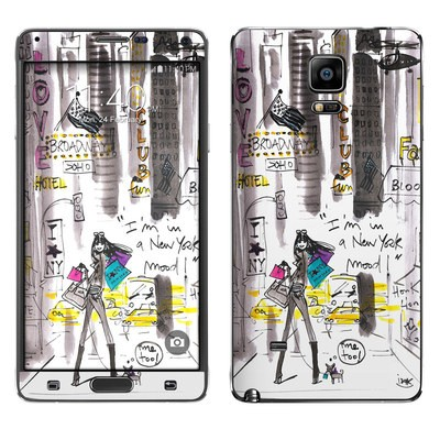 Samsung Galaxy Note 4 Skin - My New York Mood