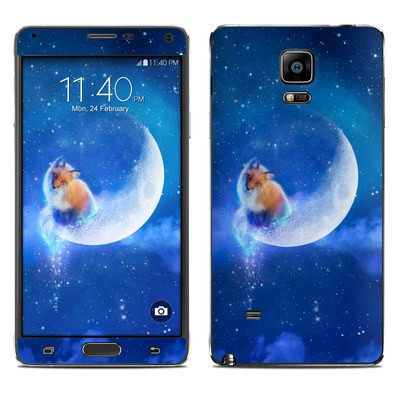 Samsung Galaxy Note 4 Skin - Moon Fox
