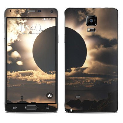 Samsung Galaxy Note 4 Skin - Moon Shadow