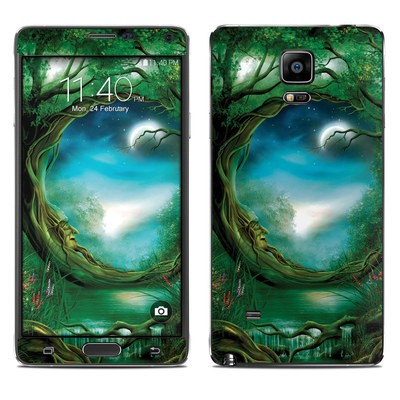 Samsung Galaxy Note 4 Skin - Moon Tree