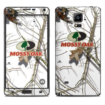 Samsung Galaxy Note 4 Skin - Break-Up Lifestyles Snow Drift