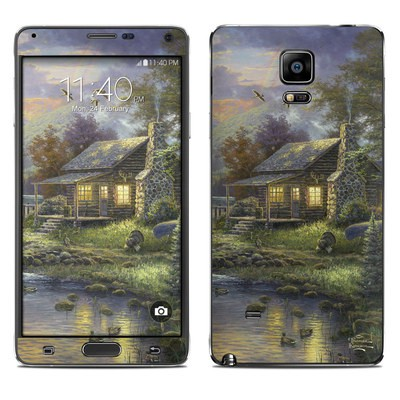 Samsung Galaxy Note 4 Skin - Natures Paradise
