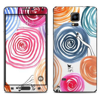 Samsung Galaxy Note 4 Skin - New Circle