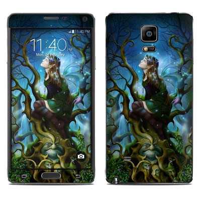 Samsung Galaxy Note 4 Skin - Nightshade Fairy