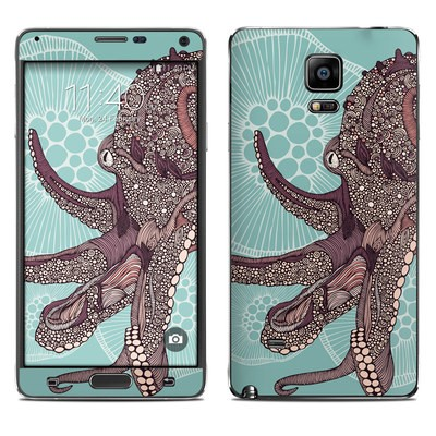 Samsung Galaxy Note 4 Skin - Octopus Bloom