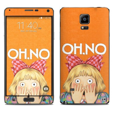 Samsung Galaxy Note 4 Skin - Oh No