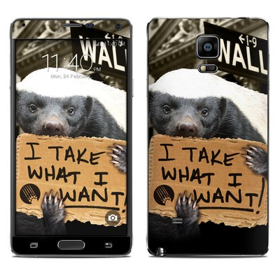 Samsung Galaxy Note 4 Skin - One Percent