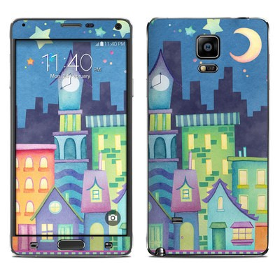 Samsung Galaxy Note 4 Skin - Our Town