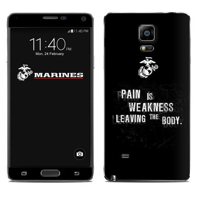 Samsung Galaxy Note 4 Skin - Pain