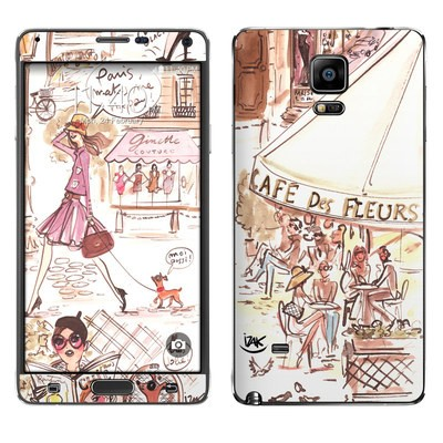 Samsung Galaxy Note 4 Skin - Paris Makes Me Happy