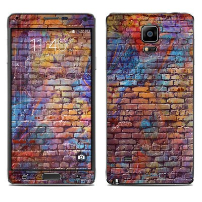 Samsung Galaxy Note 4 Skin - Painted Brick