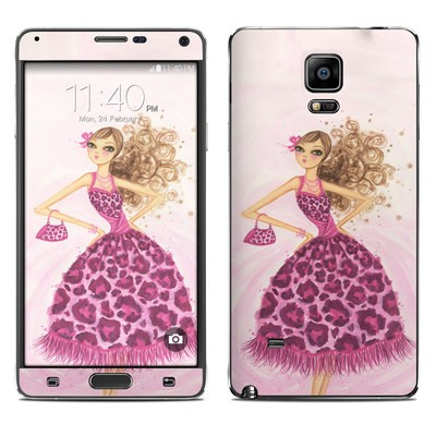 Samsung Galaxy Note 4 Skin - Perfectly Pink