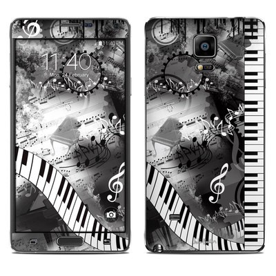 Samsung Galaxy Note 4 Skin - Piano Pizazz