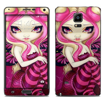 Samsung Galaxy Note 4 Skin - Pink Lightning