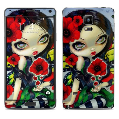 Samsung Galaxy Note 4 Skin - Poppy Magic