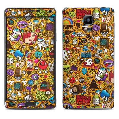 Samsung Galaxy Note 4 Skin - Psychedelic