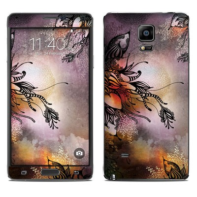 Samsung Galaxy Note 4 Skin - Purple Rain