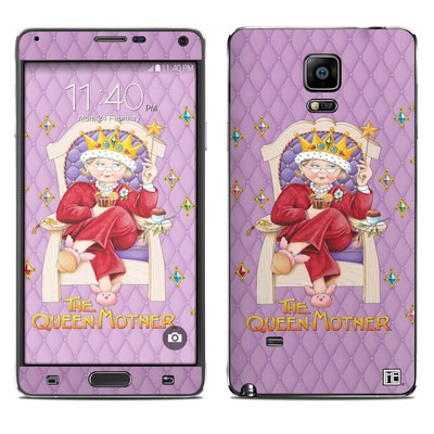 Samsung Galaxy Note 4 Skin - Queen Mother