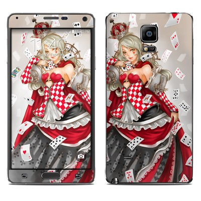 Samsung Galaxy Note 4 Skin - Queen Of Cards