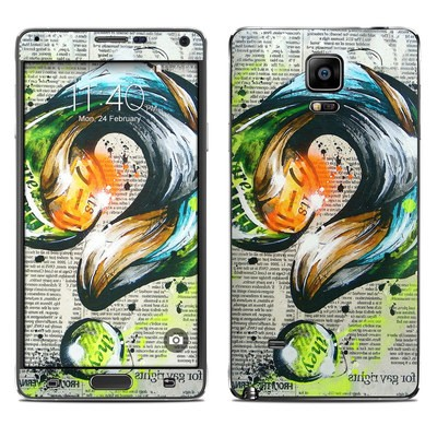 Samsung Galaxy Note 4 Skin - Question