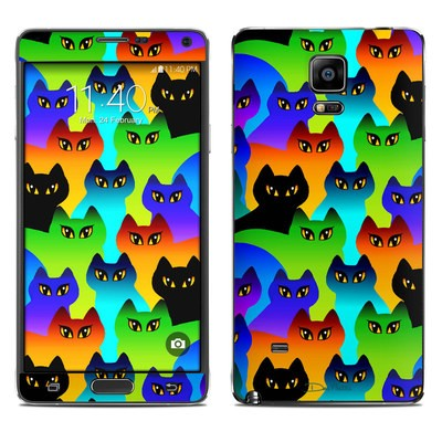 Samsung Galaxy Note 4 Skin - Rainbow Cats