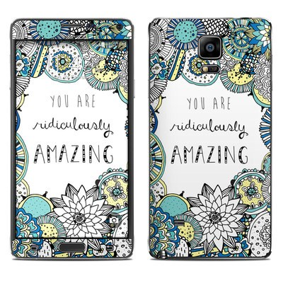 Samsung Galaxy Note 4 Skin - You Are Ridic