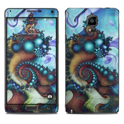 Samsung Galaxy Note 4 Skin - Sea Jewel