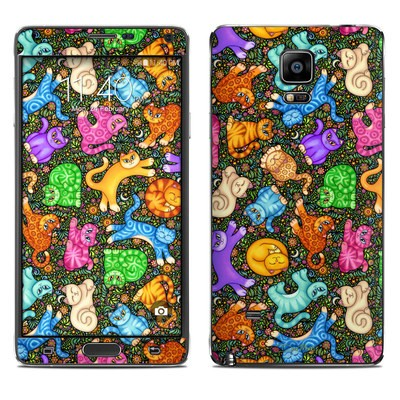 Samsung Galaxy Note 4 Skin - Sew Catty
