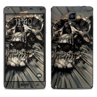 Samsung Galaxy Note 4 Skin - Skull Wrap