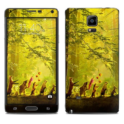 Samsung Galaxy Note 4 Skin - Secret Parade