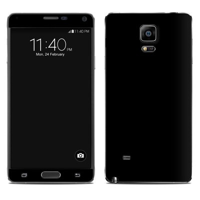Samsung Galaxy Note 4 Skin - Solid State Black