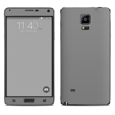 Samsung Galaxy Note 4 Skin - Solid State Grey