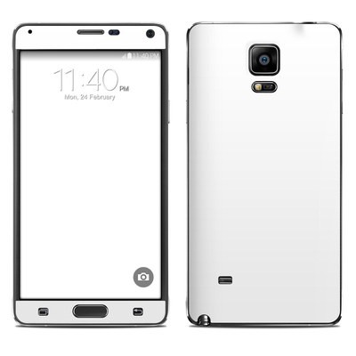 Samsung Galaxy Note 4 Skin - Solid State White