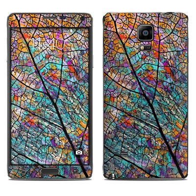 Samsung Galaxy Note 4 Skin - Stained Aspen